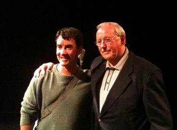 Jonny Brugh and Bob Blair at BATS